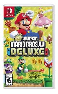 New Super Mario Bros U Deluxe Nintendo Switch Nuevo Fisico