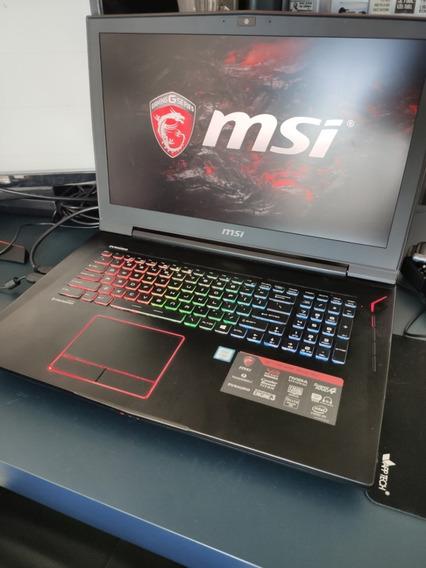 Notebook Gamer Msi Gt 73vr 6re Titan Sli