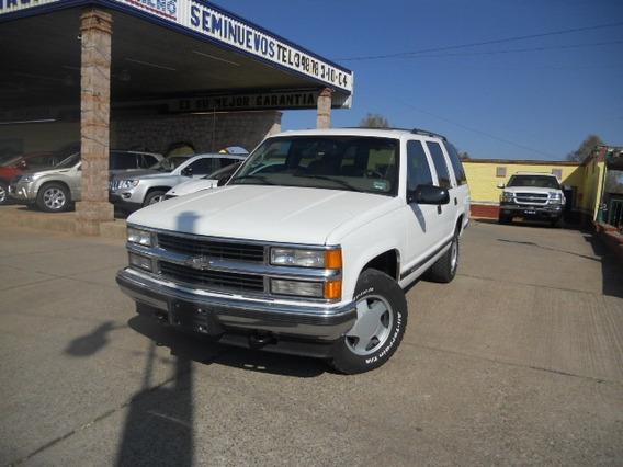 Chevrolet Tahoe 1997 Blanco Piel, 4x4