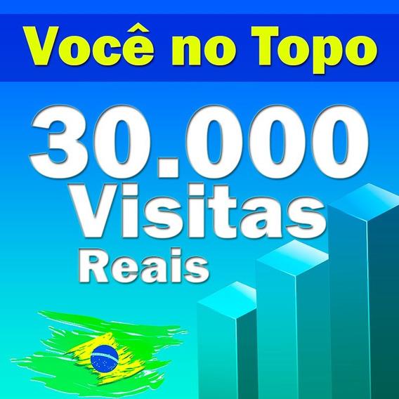 30.000 Visitas Para Sites, Blog, Loja Virtuais,