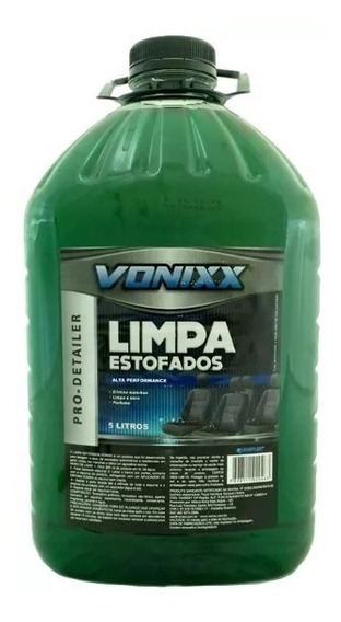 Limpa Bancos Estofado A Seco Sofás Carros 5 Litros - Vonixx