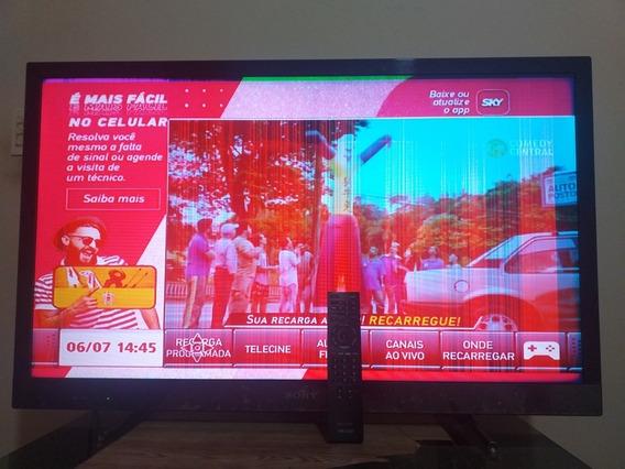 Tv Lcd Sony 40 Polegadas, Com Defeito.