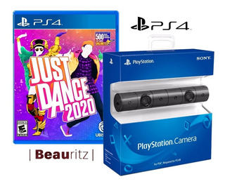 Cámara Vr Ps4 + Just Dance 2020 / Pack Play Station 4 / Sony
