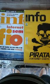 Revistas Info. Lote Com 08 Unidades