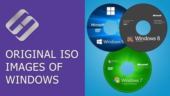 Windows 7/8/10 X32 X64 +programas Instalados Isso Original