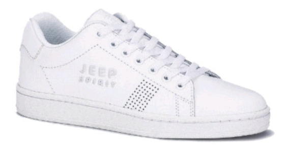 Tenis Jeep Js 100 Blancos Caballero 2667201 And.dep
