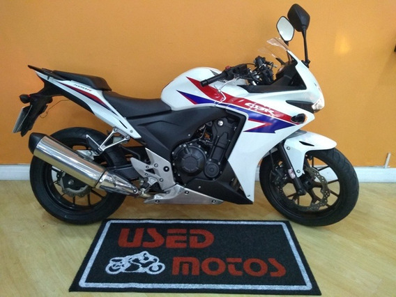 Honda Cbr 500 R 2014 Branca