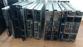 Lote 14 Servidores Rack Hp Proliant Dl - Dell Poweredge Ibm
