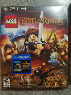 Lego Lord Of The Rings + Pelicula Bluray