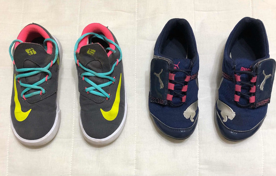 Tenis Nike Y adidas Para Niña (16 Mx)