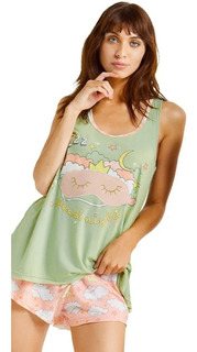 Pijama Musculosa Short Verano 2020 So Sleepy 11475 So Pink