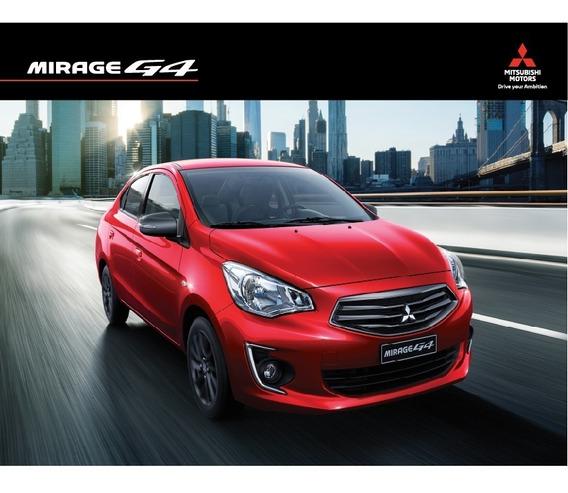 Mitsubishi Mirage G4 1.2 2019 Rojo 5 Puertas