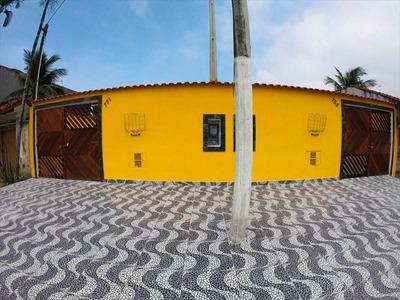 Linda Casa A Venda Na Praia, Imóvel Em Itanhaém.
