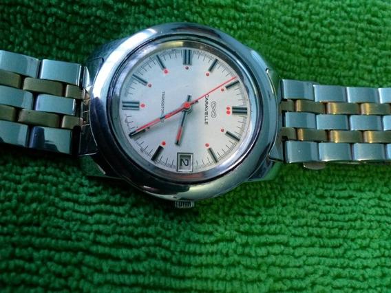 Reloj Caravelle De Transistorized