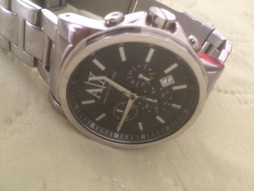 Relógio Armani Exchance,em Aço Inoxidável Cor Prata