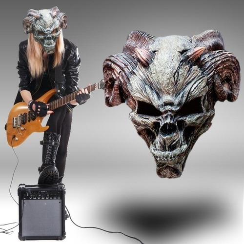 Mascara De Latex Demonio Terror Disfraz Halloween Importadas