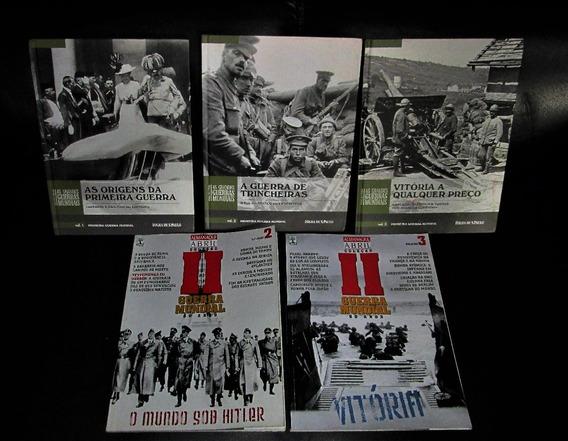 Lote Livros E Revistas Sobre A Segunda Guerra Mundial