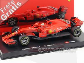 1/43 Bburago Ferrari Sebastian Vettel Sf71h F1 2018