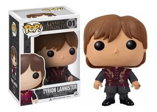 Funko Pop Tyrion Lannister 01 Game Of Thrones Educando