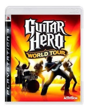 Jogo Guitar Hero World Tour - Ps3 Mídia Física