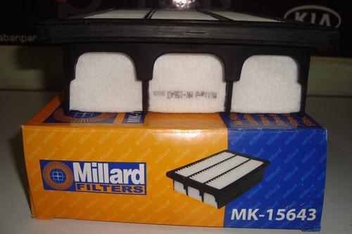 Filtro De Aire Hyundai Santa Fe 2.7 06 - 09 Millard