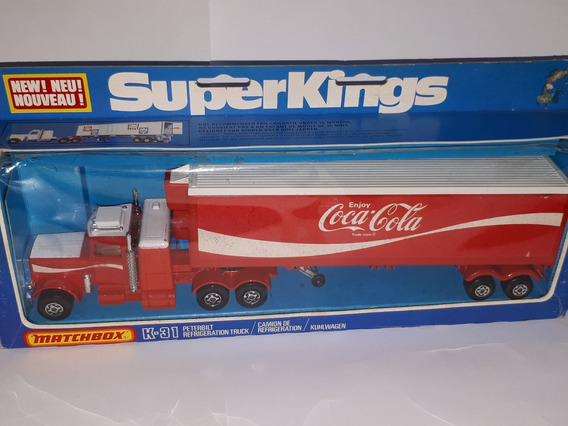 Matchbox Super Kings K 31 Coca Cola Año 1978 Lesney England