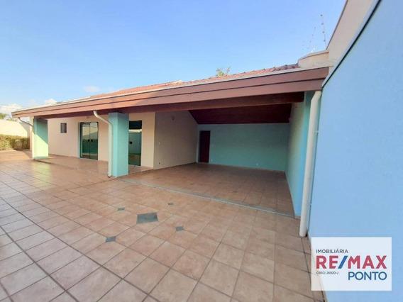 Casa Com 3 Dormitórios Para Alugar, 189 M² Por R$ 1.800,00/mês - Jardim Brasília - Mogi Mirim/sp - Ca0053