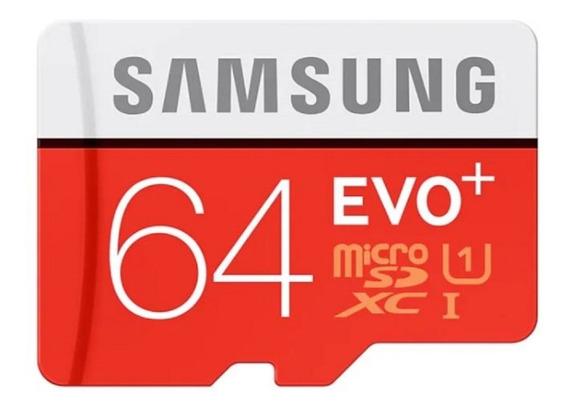 Samsung Evo+ 64 Gb Micro Sd U1 Sin Caja
