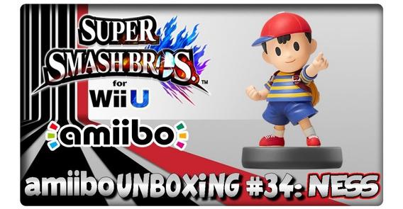 Amiibo Earthbound Ness 34 - Super Smash Bros Nintendo