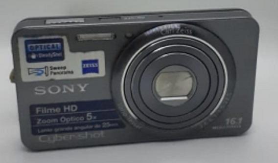 Câmera Digital Sony Cyber-shot Dsc-w570 16.1mp