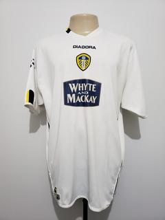 Camisa Futebol Leeds United Inglaterra 2004 Home Diadora Gg