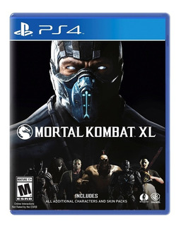 ¡¡¡ Mortal Kombat Xl Para Ps4 En Whole Games !!!