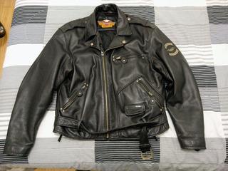 Campera De Cuero Harley Davidson