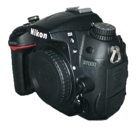 Câmera Nikon D7000 Corpo Carregador Bateria Perfeita