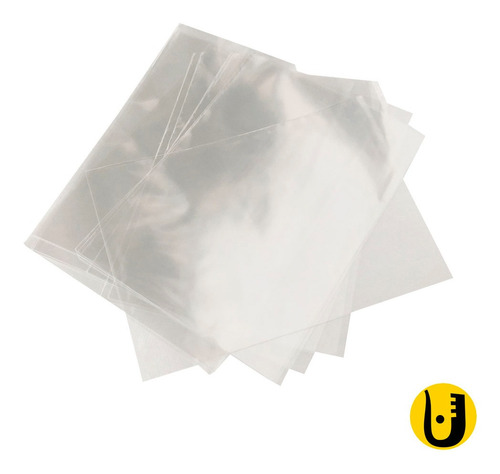 Imagem 1 de 1 de 100 Saquinhos Sacos Celofane 15x21 Para Convites E Doces