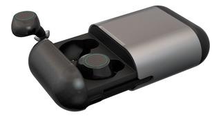 Auriculares In Ear Bluetooth Tws Iqual S7 Rock Aluminio Gtia