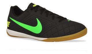 Tenis Nike Masculino Futsal Beco 2 Preto Verde Original