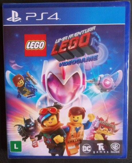 Lego 2 Videogame Jogo Ps4 Mídia Física Lacrado Em Português