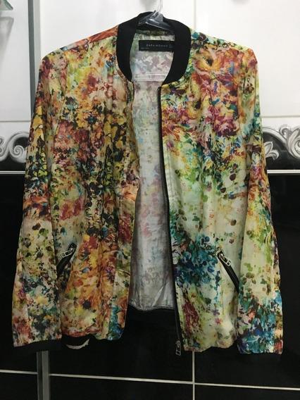 Casaco Descolado Multicolor Numero 38, Levinho, Moderno E Veste Muito Bem