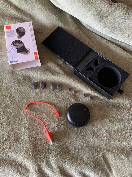 Fone De Ouvido Bluetooth Jbl In Ear Free X Preto
