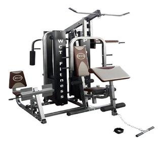 Estação De Musculação Completa Wct Fitness 204kg Com Juros