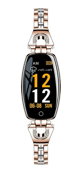 H8 Pulsera Inteligente Reloj Para Mujer Ip67 Monitor De