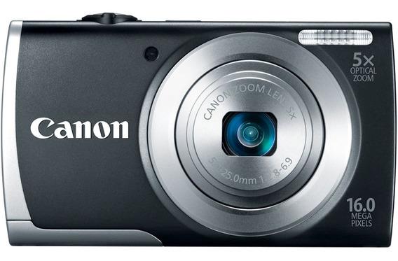 Canon Powershot A2600 16mp Ótico 5x Lcd De 2,7 Polegadas