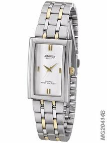 Relógio Magnum Feminino Aço Misto