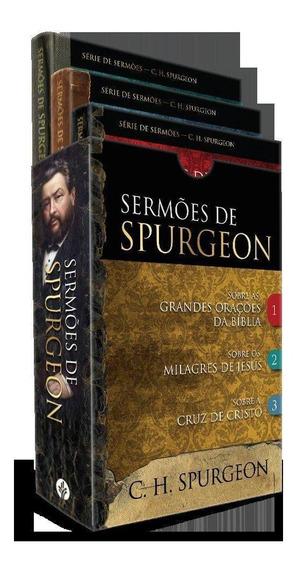 Box - Sermões De Spurgeon - 3 Livros Do Príncipe Dos Prega
