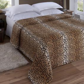 03498c7f39 Cobertor Casal Jolitex Felpudo Animal - Roupa de Cama no Mercado ...