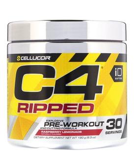 C4 Ripped Pré Treino Importado Termogênico Cellucor