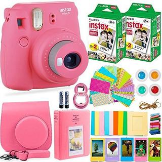 Fujifilm Instax Mini 9 Camara Instantanea Fuji Instax Film (