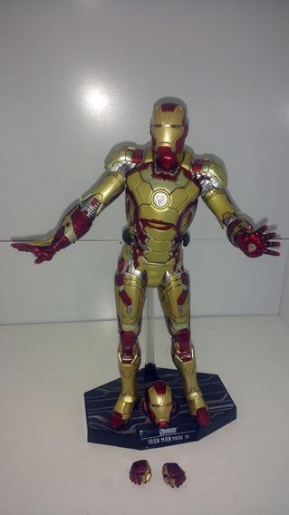 Homem De Ferro - Iron Man Mark 42 1/6 30cm Não Hot Toys