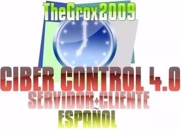 Ciber Control 4.0 Pro Servidor + Cliente Español Original